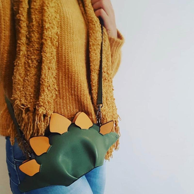 Dinosaur Cross Body Bag, Shoulder Bag