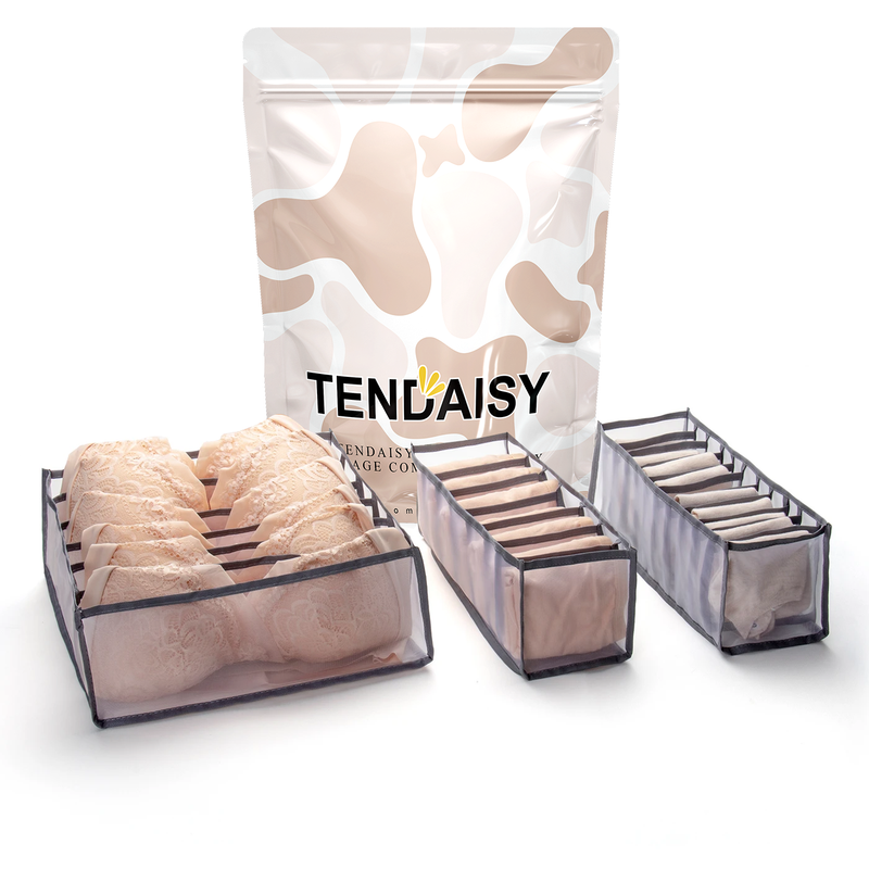 Tendaisy Underwear Storage Compartment Box