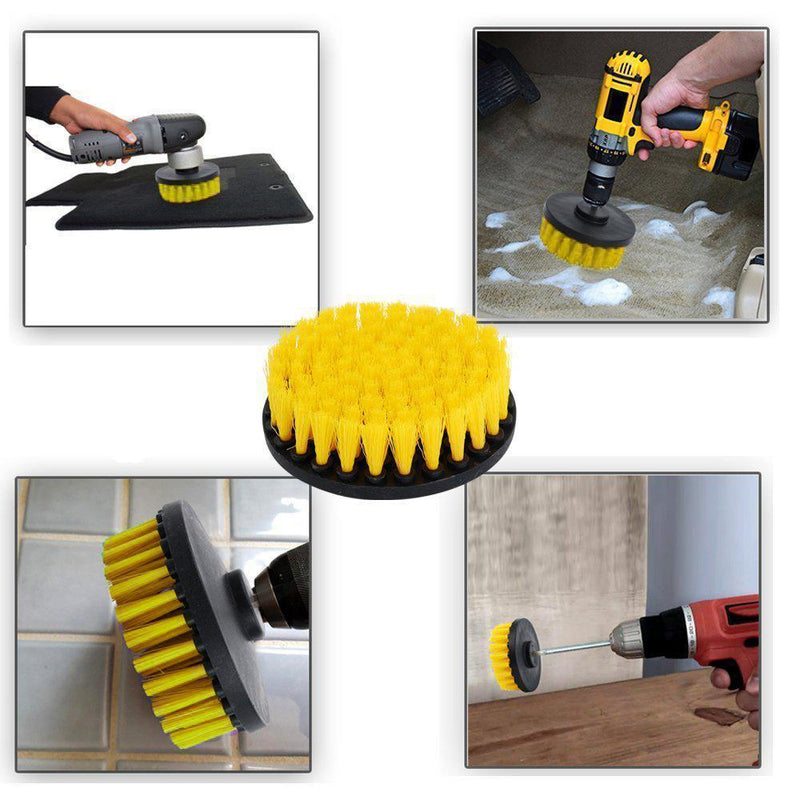 Power Drill Cleaning Accessory brush, 3pcs