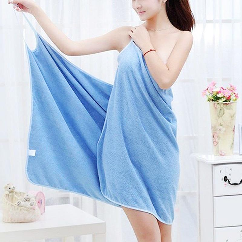 2-in-1 bath towel