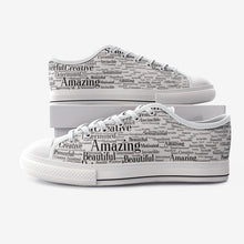 Load image into Gallery viewer, Unisex Low Top Canvas Shoes