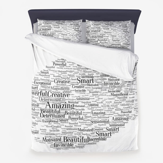 Loved Duvet Cover