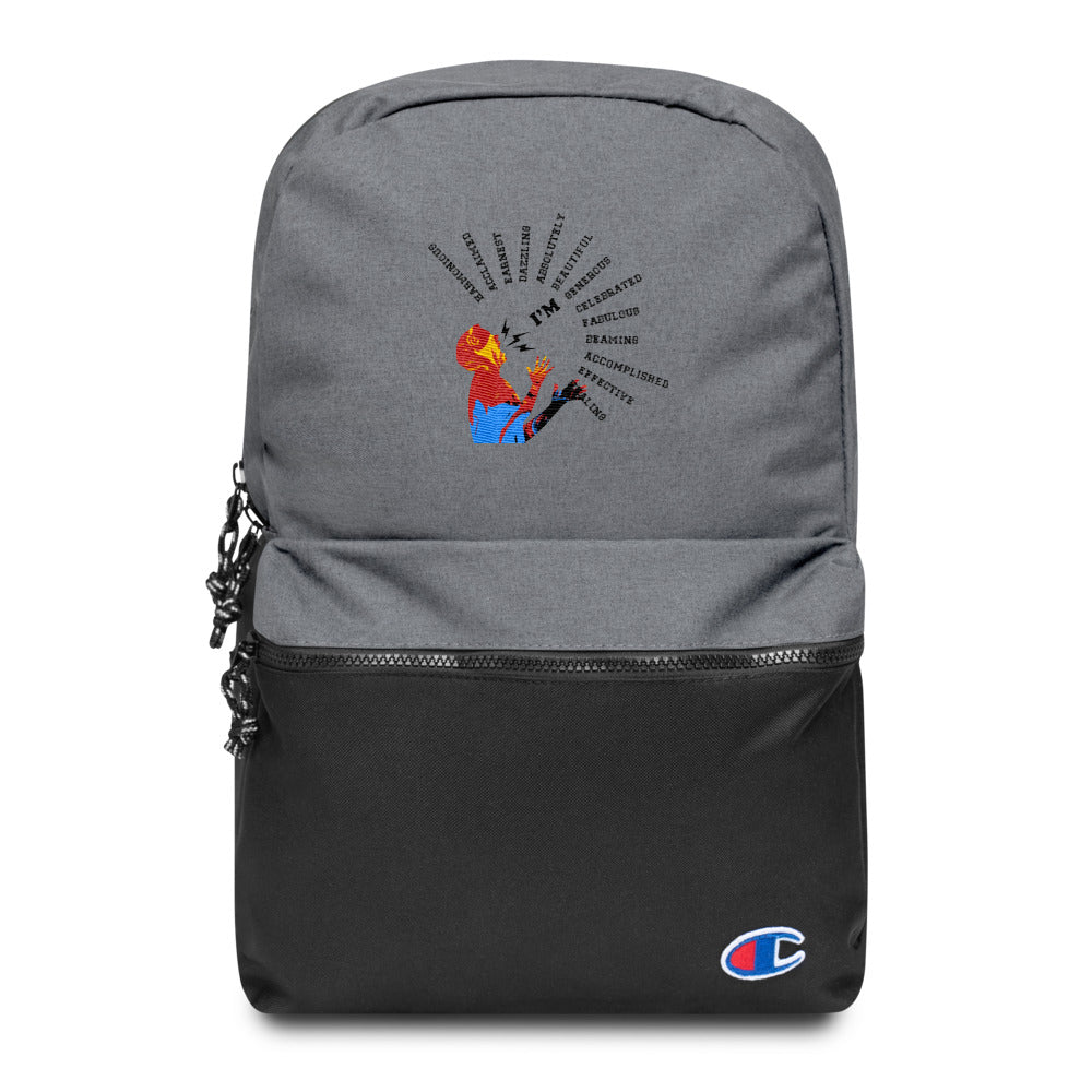 Embroidered-Backpack