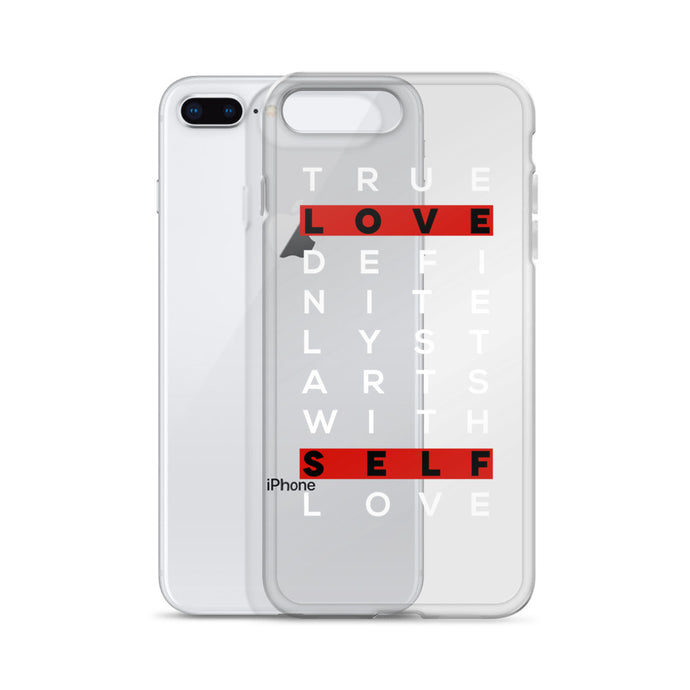 True Love Self Love iPhone Case