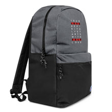 Load image into Gallery viewer, Embroidered-Champion-Backpack