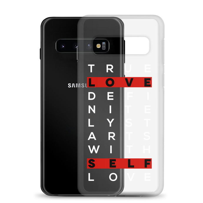True Love Self Love Samsung Case