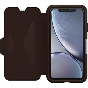 Strada Series Folio Case iPhone XR