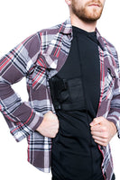 Graystone Concealed Carry Mens VNeck Undercover & Bodyguard Armor