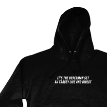 Load image into Gallery viewer, OMGRL Products AJ TRACEY LIVE AND DIRECT HOODIE Slogan Tee