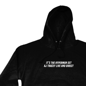 OMGRL Products AJ TRACEY LIVE AND DIRECT HOODIE Slogan Tee