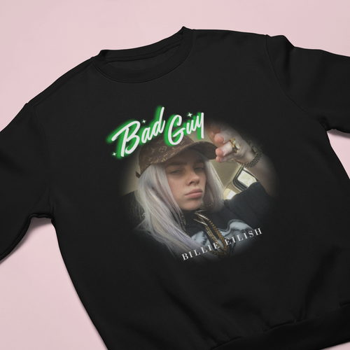 BILLIE BAD GUY SWEATSHIRT