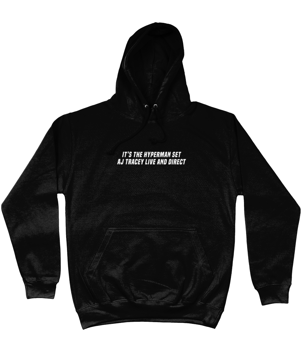 AJ TRACEY LIVE AND DIRECT HOODIE