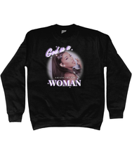 Load image into Gallery viewer, ARIANA GOD IS A WOMAN SWEATSHIRT