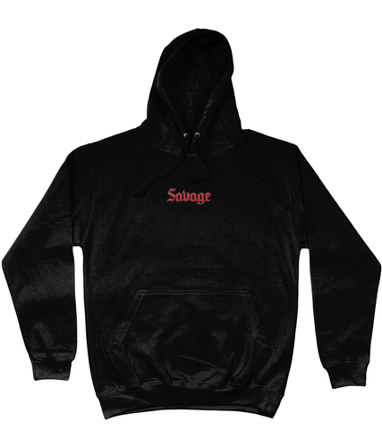 SAVAGE EMBROIDERED HOODIE