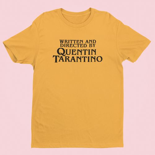 OMGRL Products TARANTINO T-SHIRT Slogan Tee