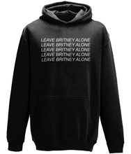 Load image into Gallery viewer, LEAVE BRITNEY ALONE HOODIE