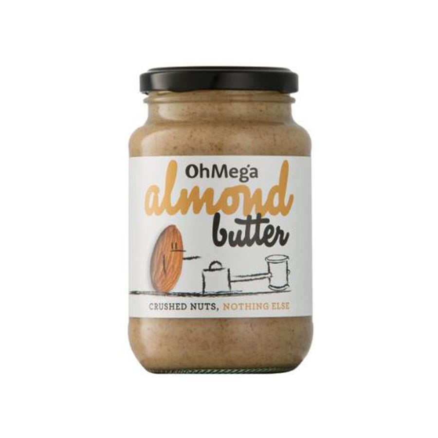 Ohmega Almond Butter 400g