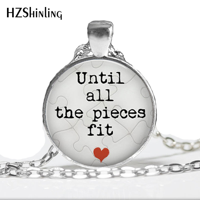 Until all the pieces fit necklace