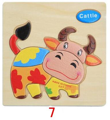 Wooden Animals Puzzle