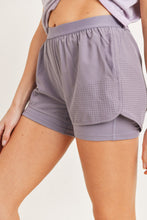 Load image into Gallery viewer, NIRVANA Perforated Active Short Shorts