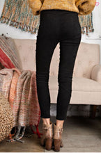 Load image into Gallery viewer, SOFT SUEDE KNIT MOTO LEGGINGS