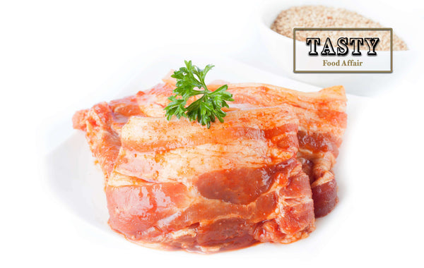 Marinated Pork Belly (500g) - 3 Flavours