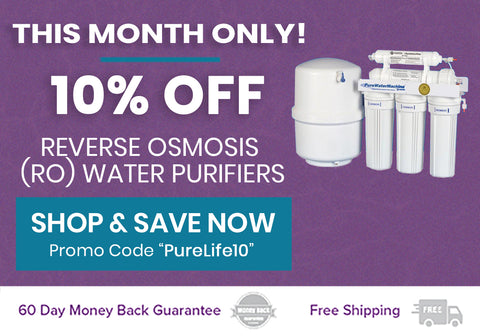 10% off reverse osmosis water filters