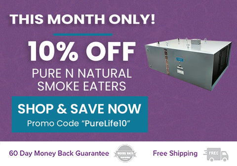 10% off Pure n Natural Smoke Eaters