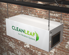 CleanLeaf Air Filtration System - Ceiling Mounted Option