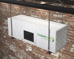 CleanLeaf Air Filtration Hanging Strut Mounting Option