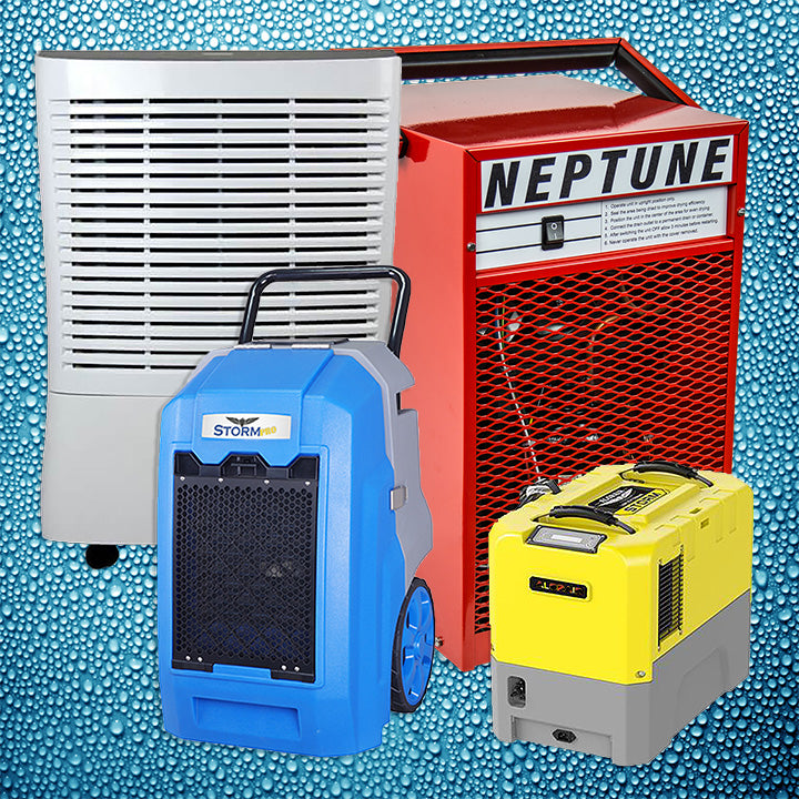Control Humidity with a Commercial Dehumidifier