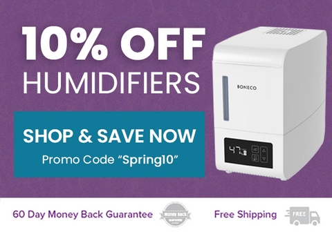 10% Off Humidifiers