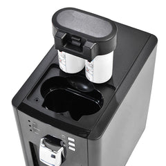 Double Carbon Block Filters in the H2O-PRO Countertop Water Dispenser