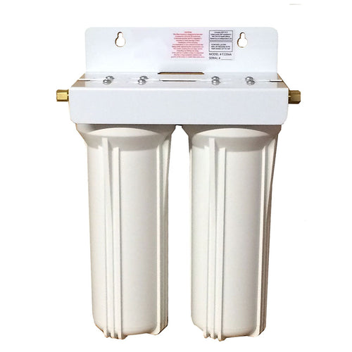 Model 2025 Under Counter 2-Stage Drinking Water Filter System