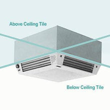 CASE-1000 - Clean Air Smoke Eater Ceiling Mount Electronic Air Cleaner