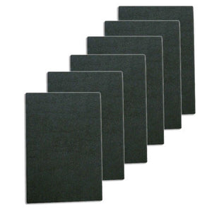 Carbon Filter Pads - 6-pack