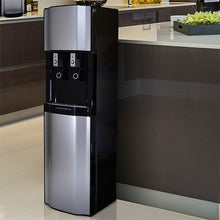 H2O-2500 High Capacity Bottleless Water Dispenser in Black features a Stunning Design.
