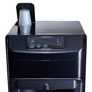 Easy to Use Control Panel and Built-in Cup Dispenser