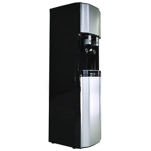 H2O-2500 High Capacity Bottleless Water Dispenser - Side Angle View