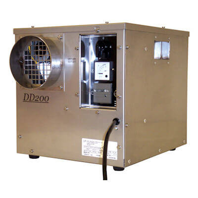 Desiccant Dehumidifier - Low Temperature - Ebac DD200