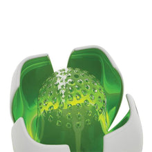 Lotus Air Purifier by Airfree - Green - Shown Open