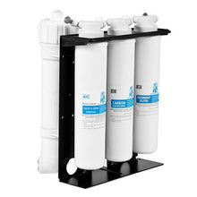 The Optional 4 Stage Filter Pack is Easily Accessible with Easy to Change Filter Cartridges