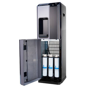 Replacement filters are easily accessible in the H2O-1000 Office Water Dispenser