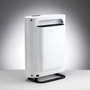 Boneco P400 Air Purifier features a sleek and sophisticated design.