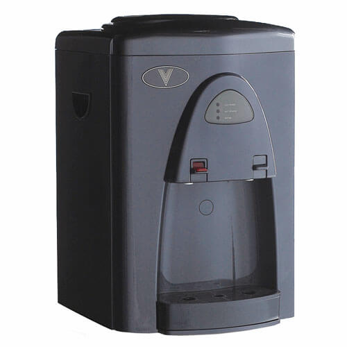Vertex PWC-500 Hot & Cold Countertop Filtered Water Cooler in Executive Gray