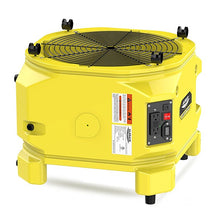 Zeus Extreme is a high velocity air mover for restoration applications