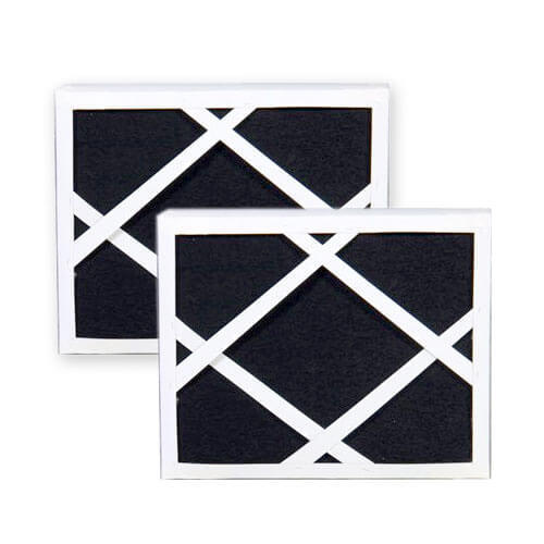 499081-2 - 2 pack of replacement HEPA filters with integrated carbon
