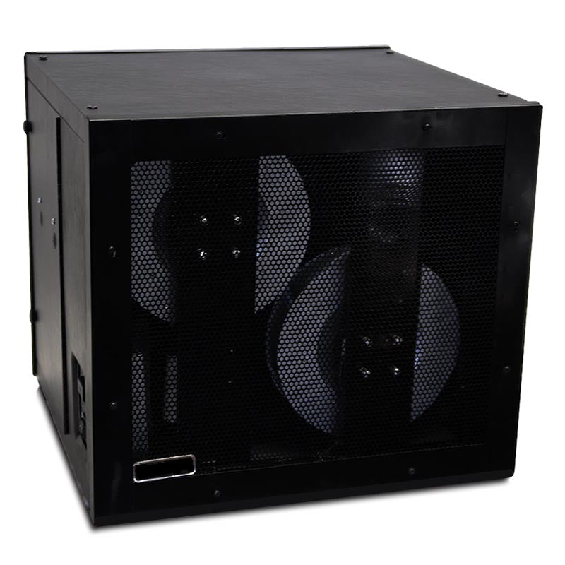 LA-PRO-HC HEPA and Carbon Commerical Smoke Eater and Air Cleaner - Black