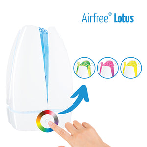 Airfree Lotus Air Purifier Changes Color!