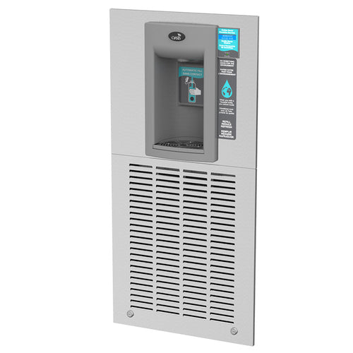 Aqua Pointe - Electronic Hands-Free Sports Bottle Filler Provides Chilled, Filtered Water